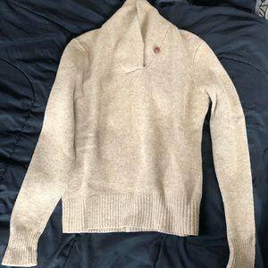 Beige Wool Ralph Lauren Sport Size Large